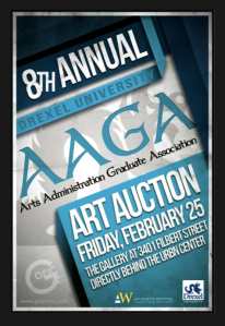 8th Annual AAGA Art Auction Invite